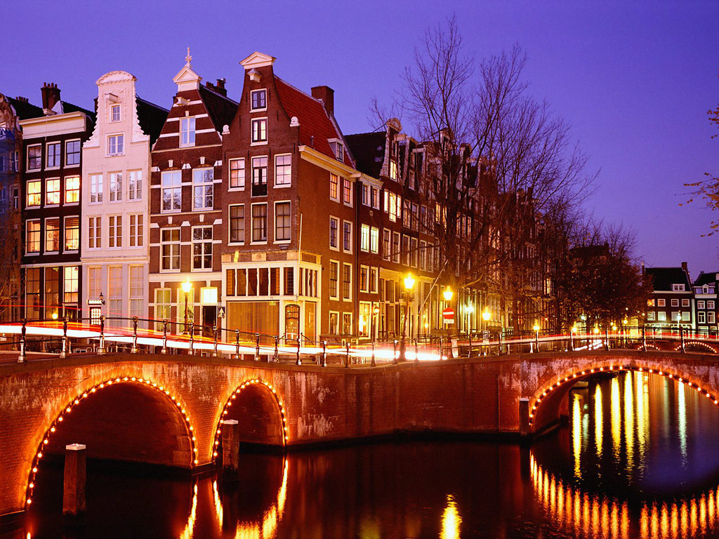 City Lights Amsterdam The Netherlands picture, City Lights ...