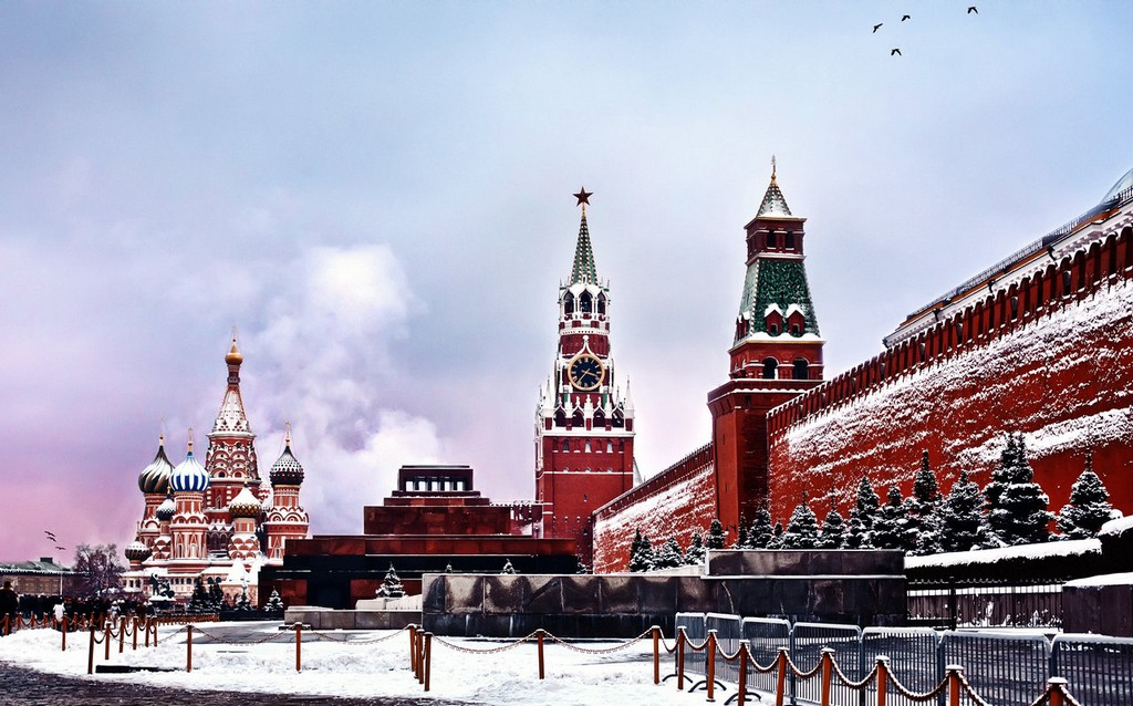 the historical center of moscow