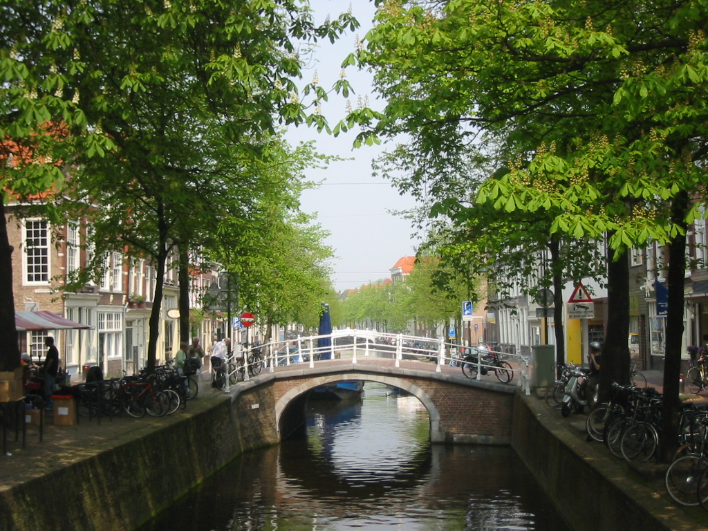 Delft Netherlands  city images : Canal Of Delft The Netherlands picture, Canal Of Delft The Netherlands ...