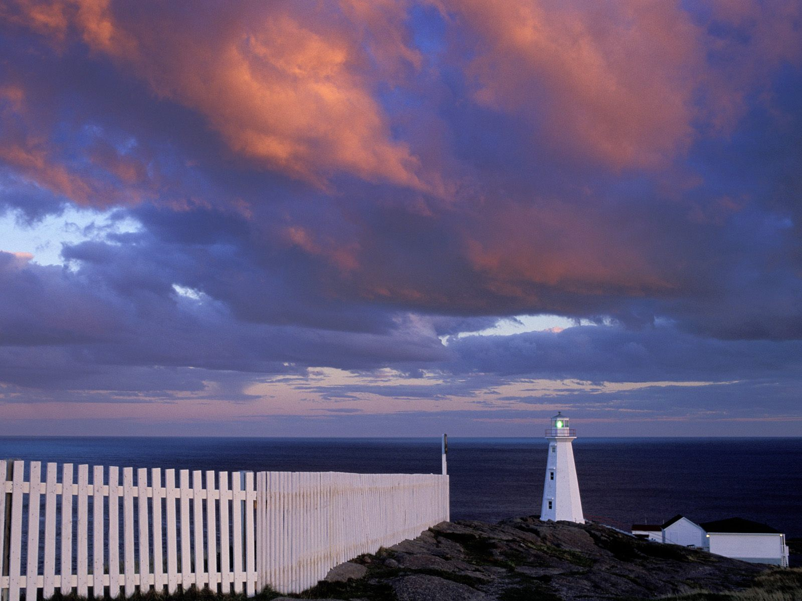 Cape Spear Lighthouse Newfoundland Canada