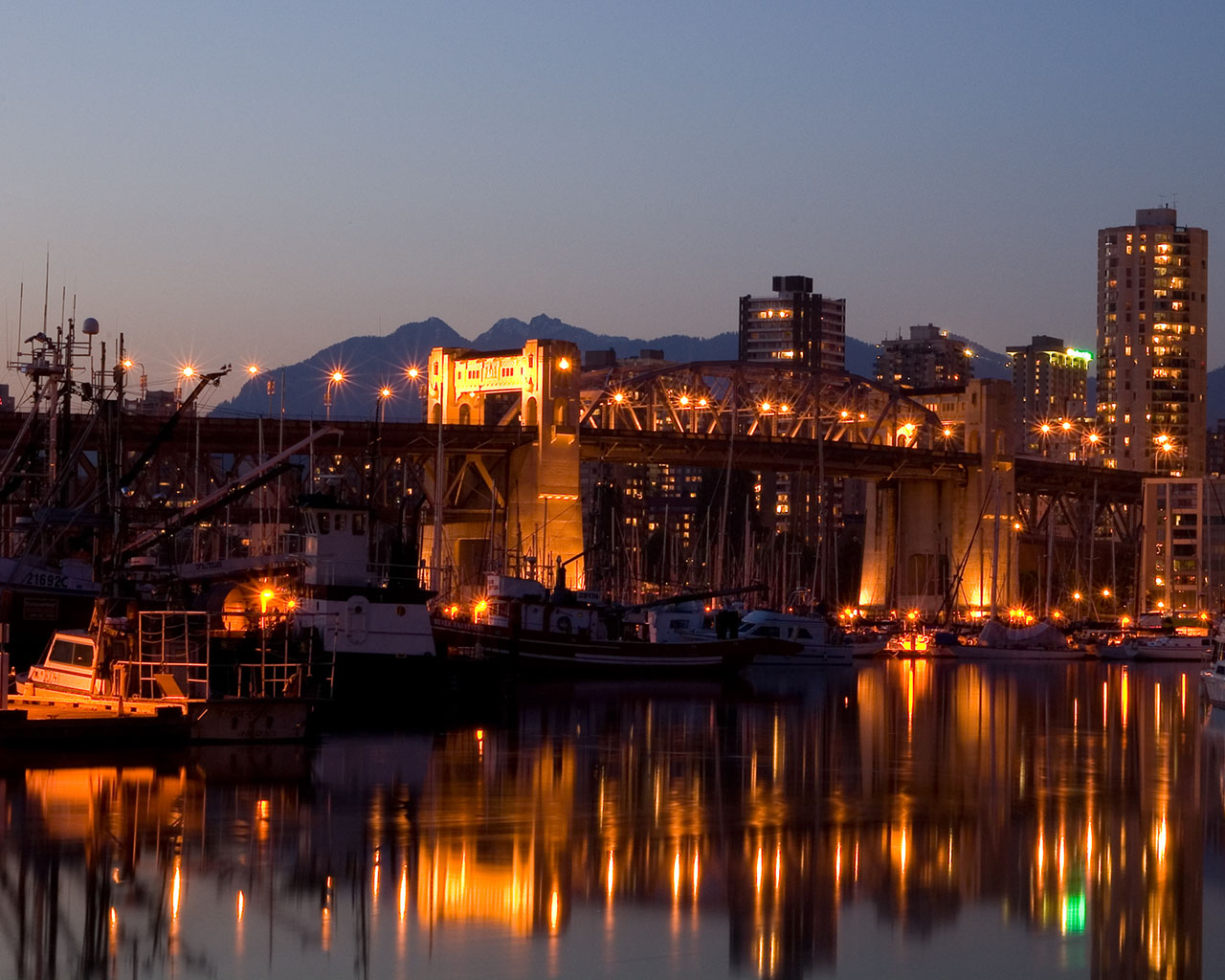 burrard bridge 1280x1024