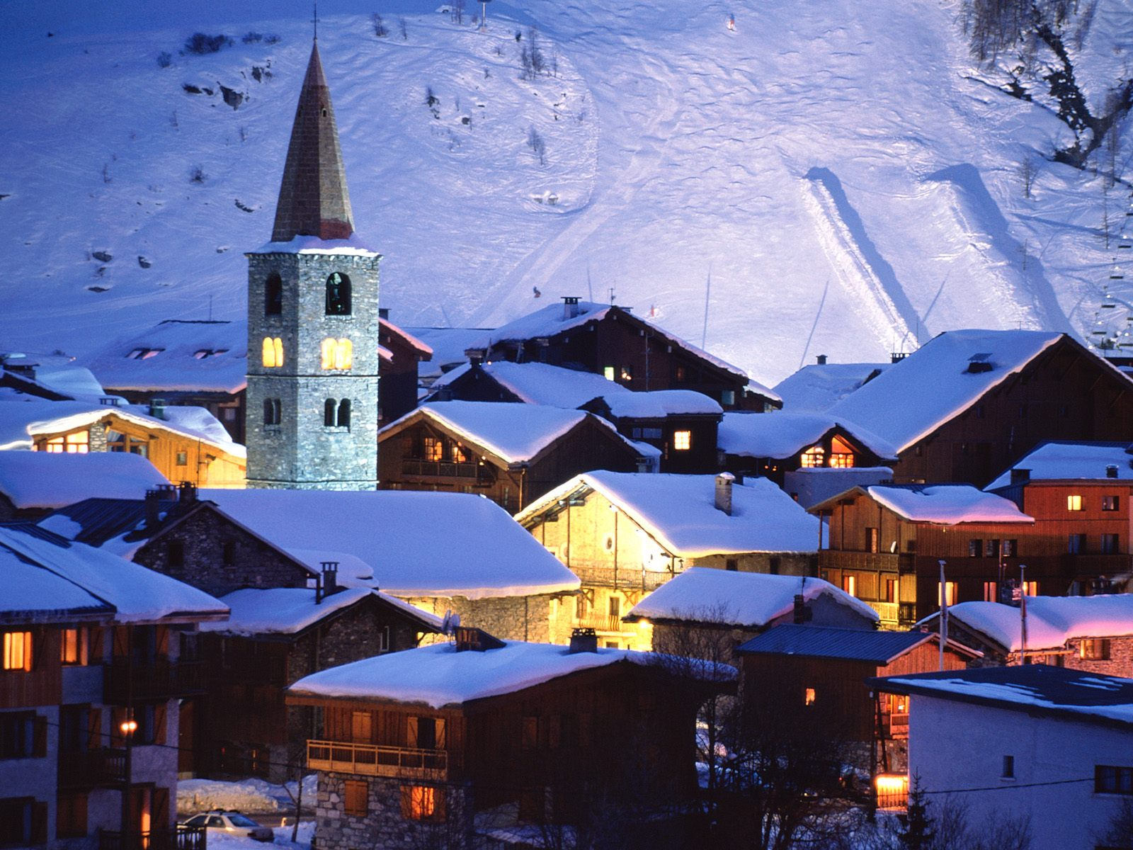 Val d 39 isere village france picture val d 39 isere village - Val d europe village horaire ...