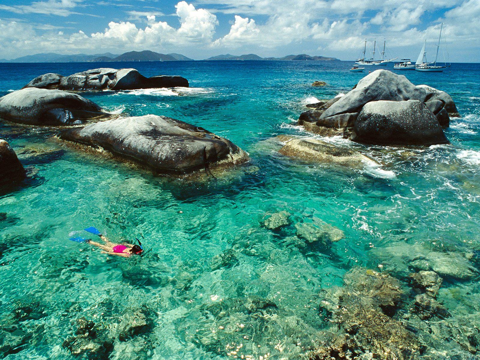 beach >> cuba snorkeling