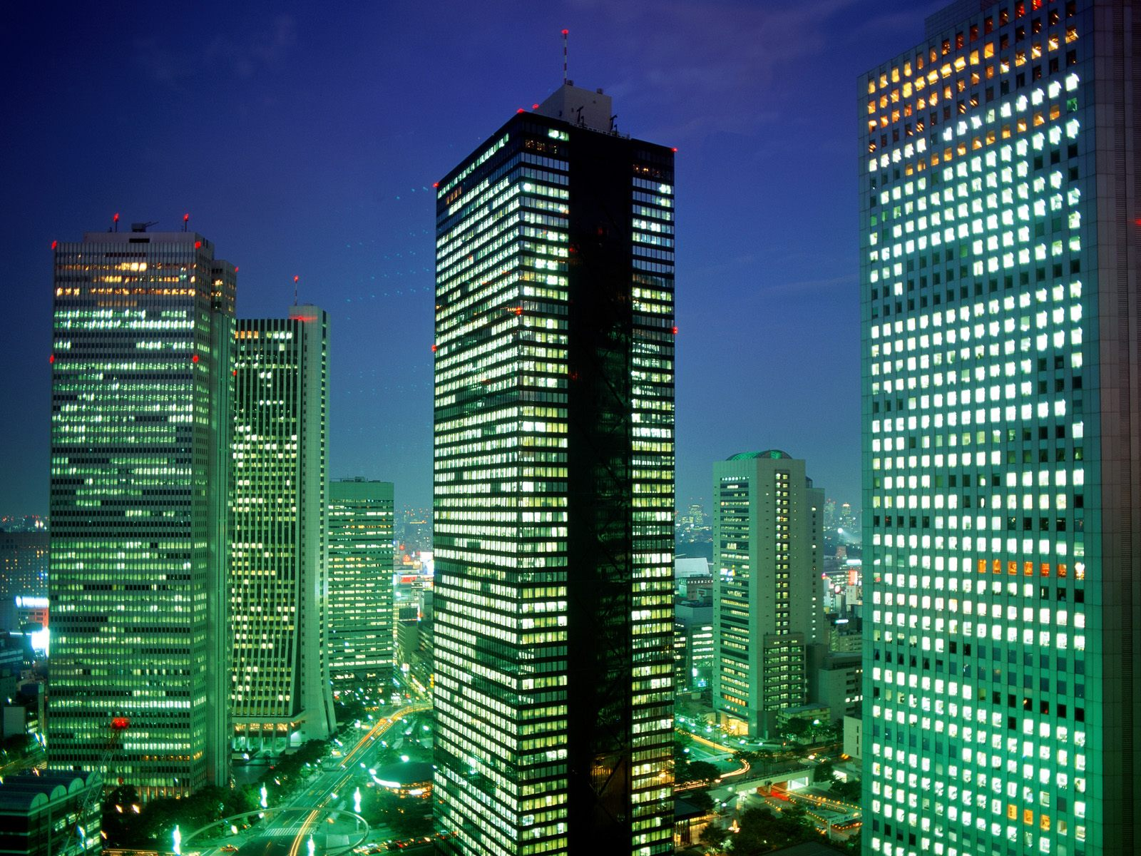 some of japan views and wallpaper its fantastic Shinjuku_District_Tokyo_Japan