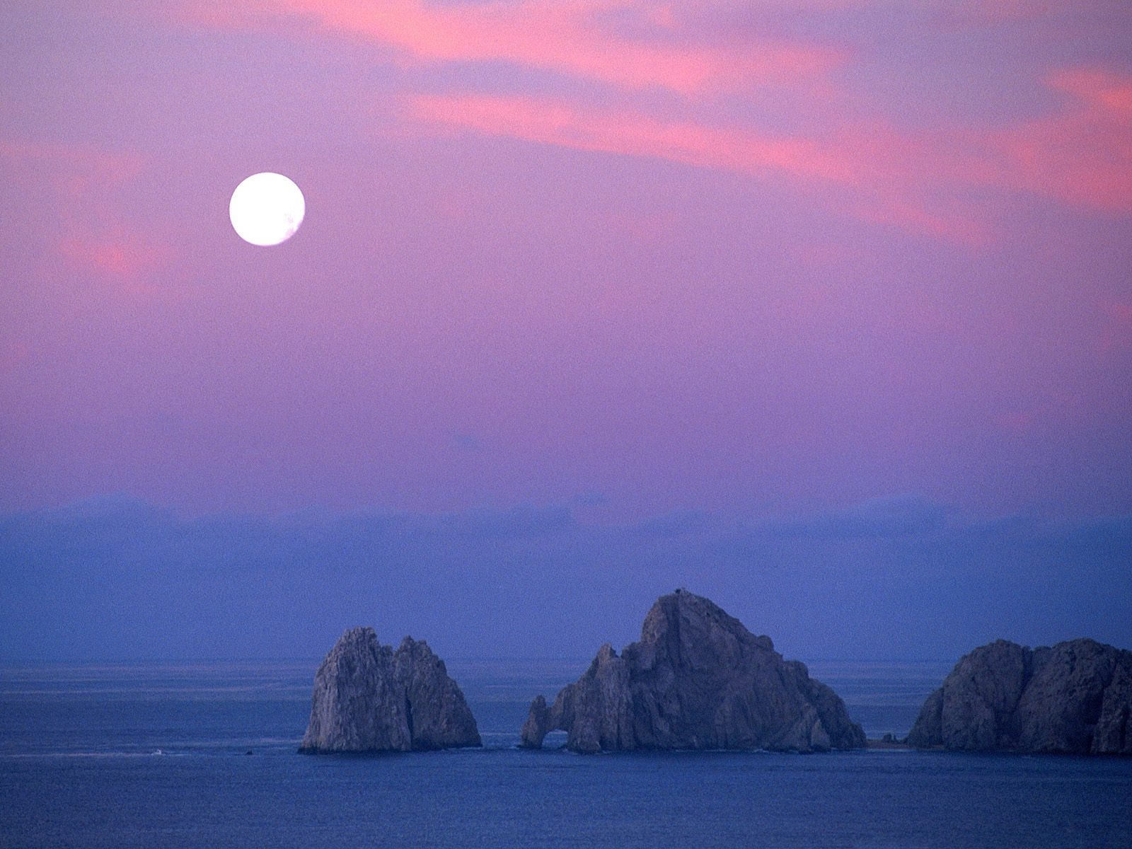 Cabo Moon Baja California Mexico