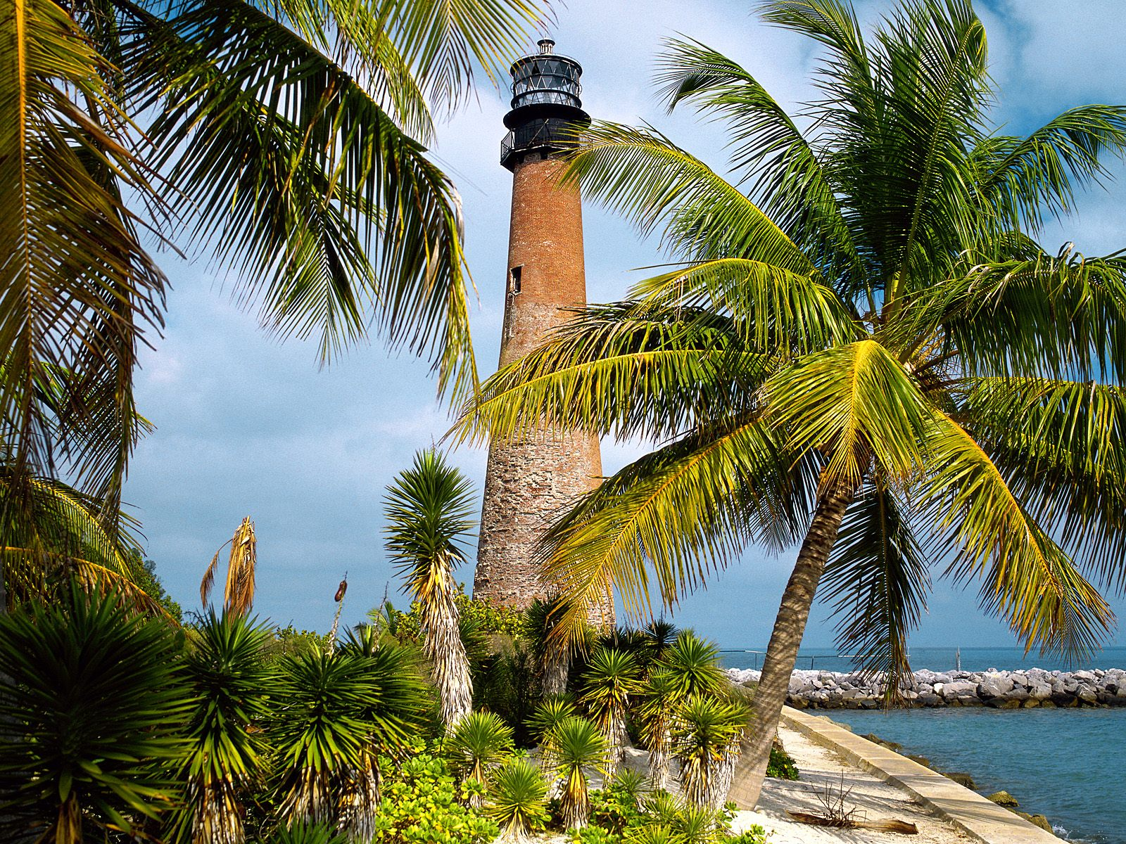 Cape Florida Lighthouse Key Biscayne Florida