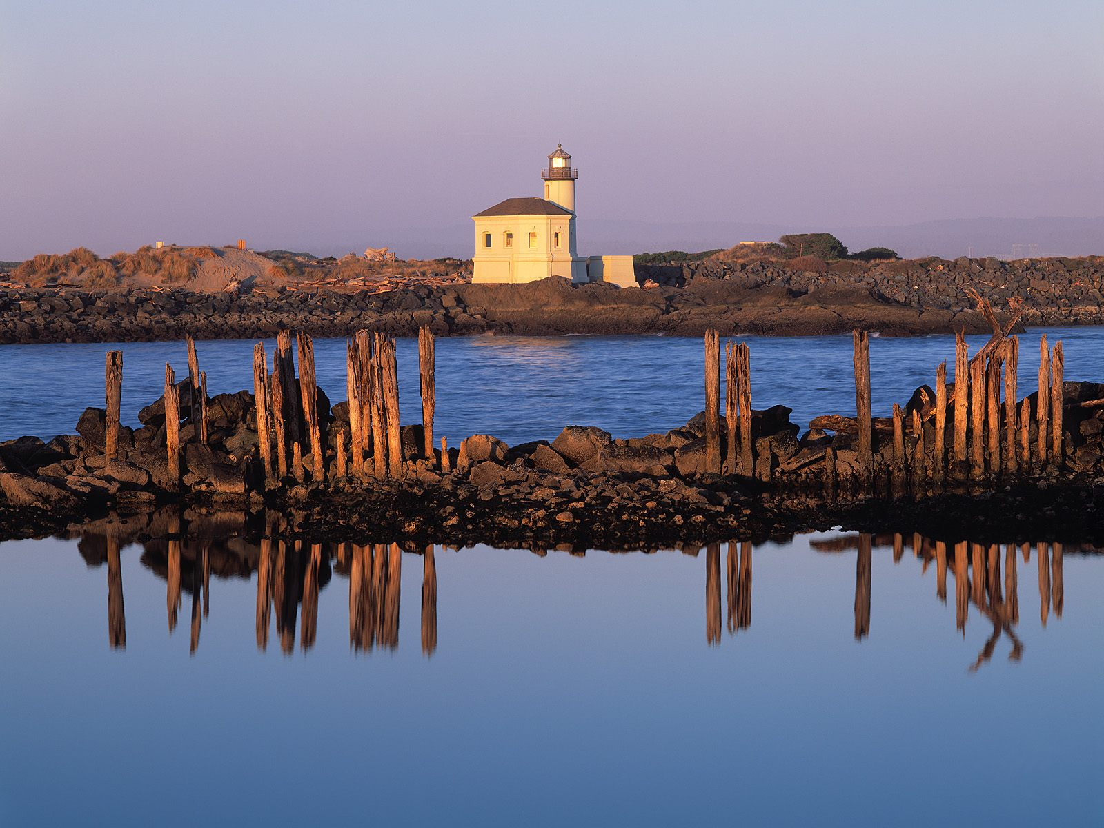 Coquille River Light Bandon Oregon