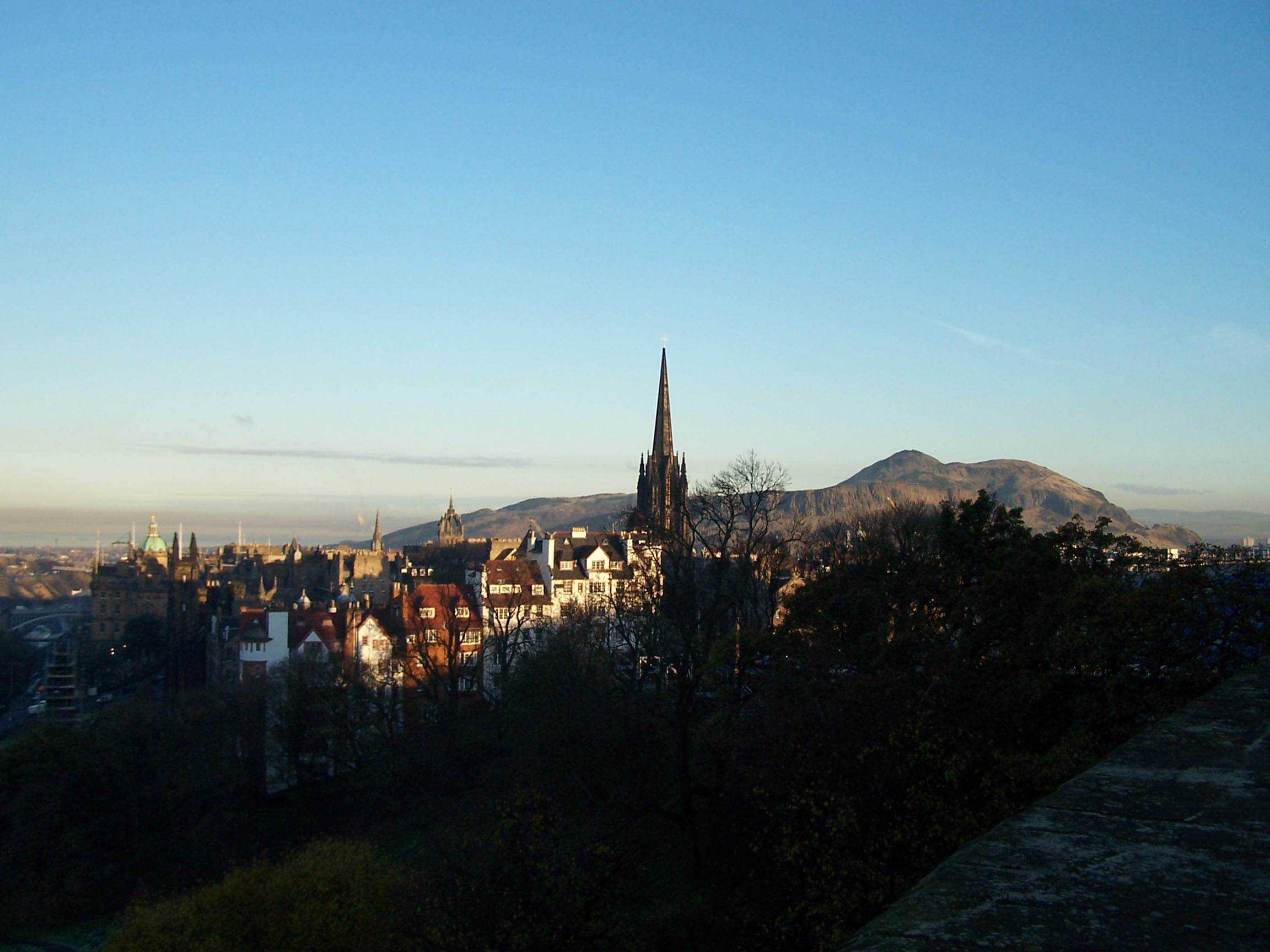View of Scotland