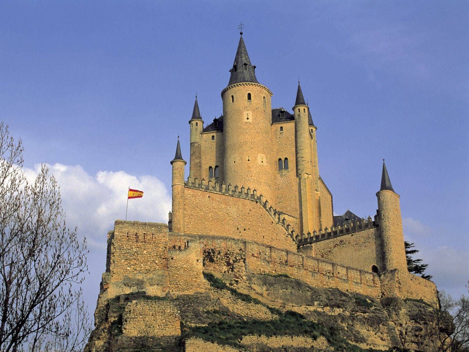 Alcazar Tower Segovia Spain
