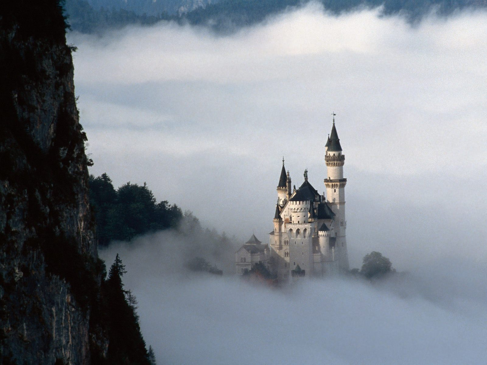 Fairy Tale Fantasy Neuschwanstein Castle Bavaria Germany