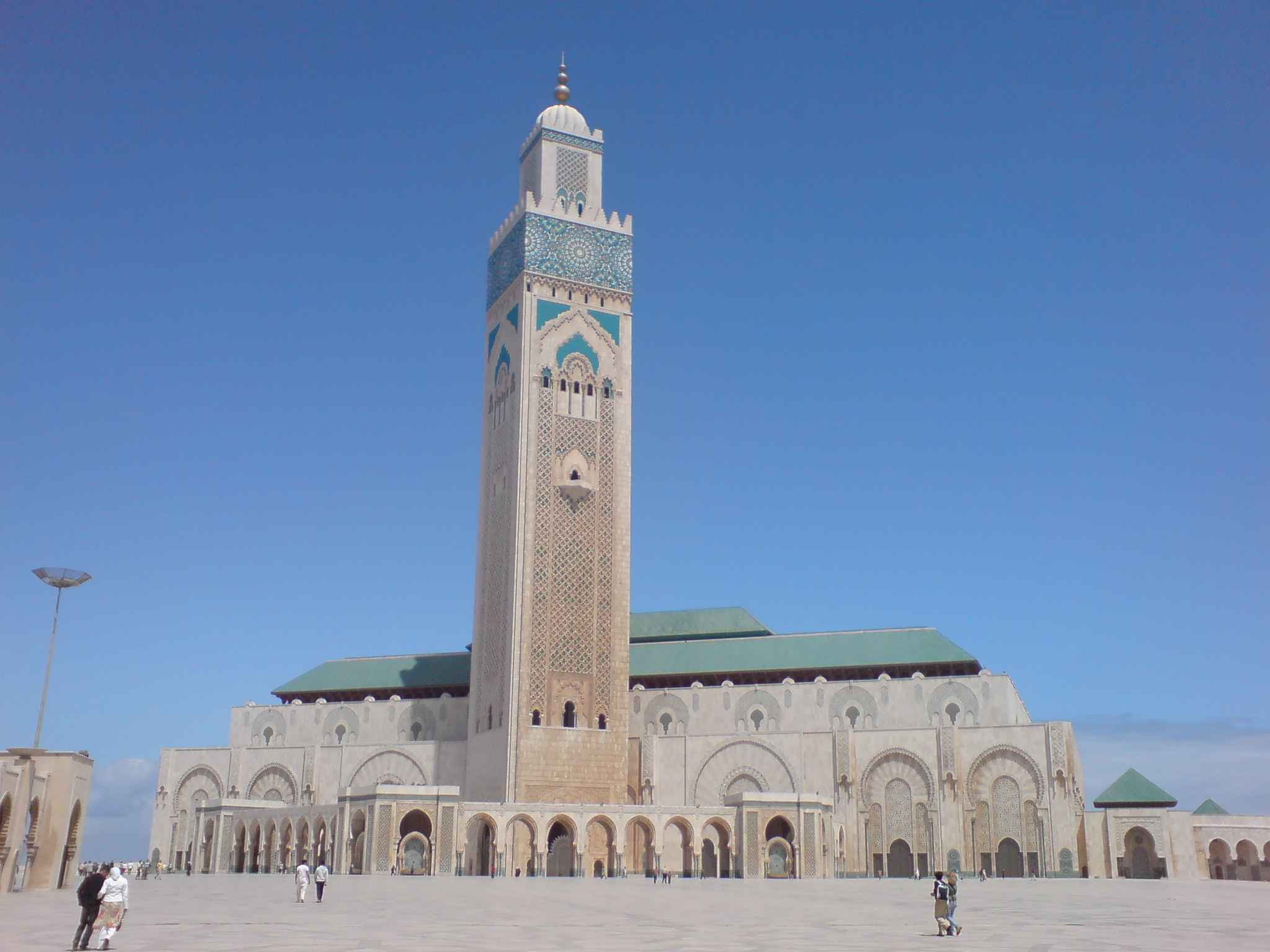 Beautiful Hassan II Mosque in Casablanca Morocco 1