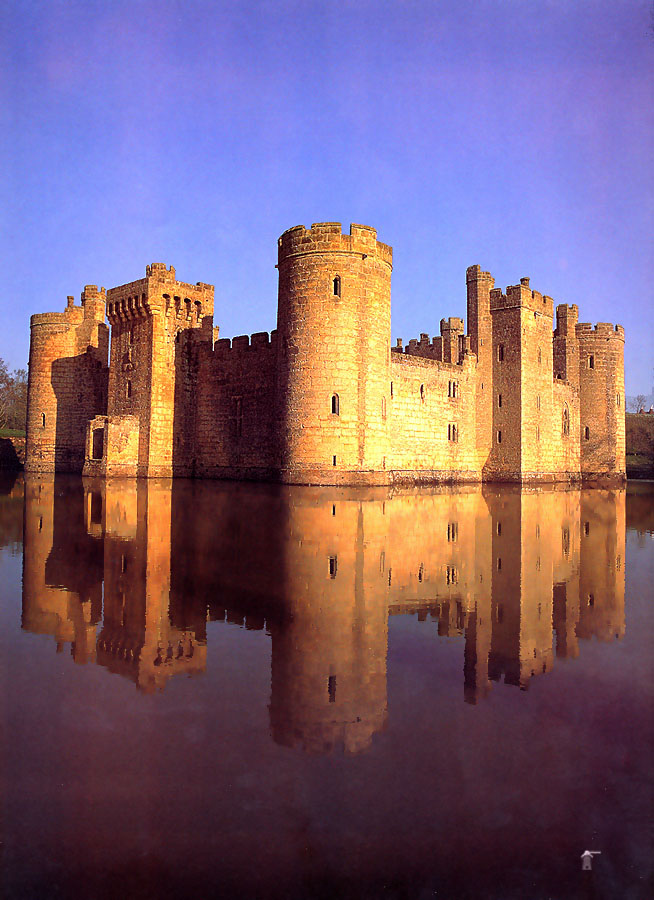 Bodium Castle Sussex England