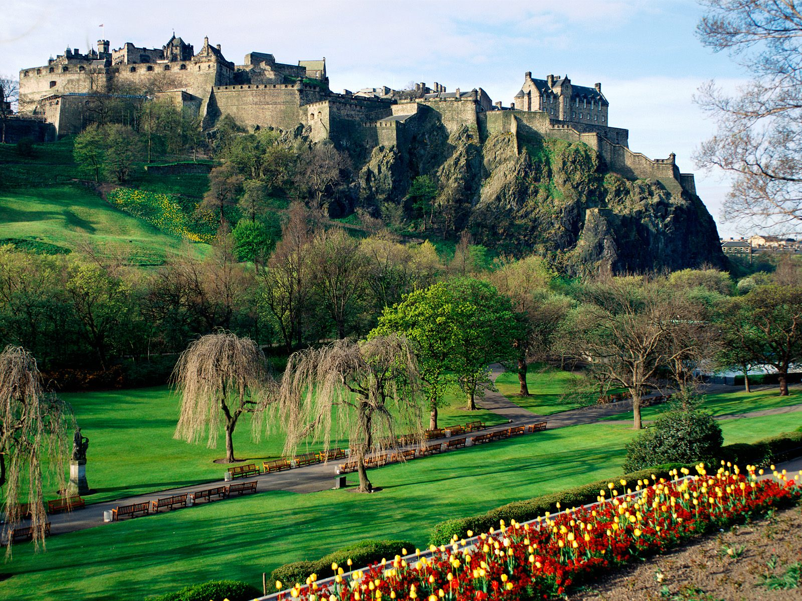 Edinburgh Castle Edinburgh Scotland photo or wallpaper