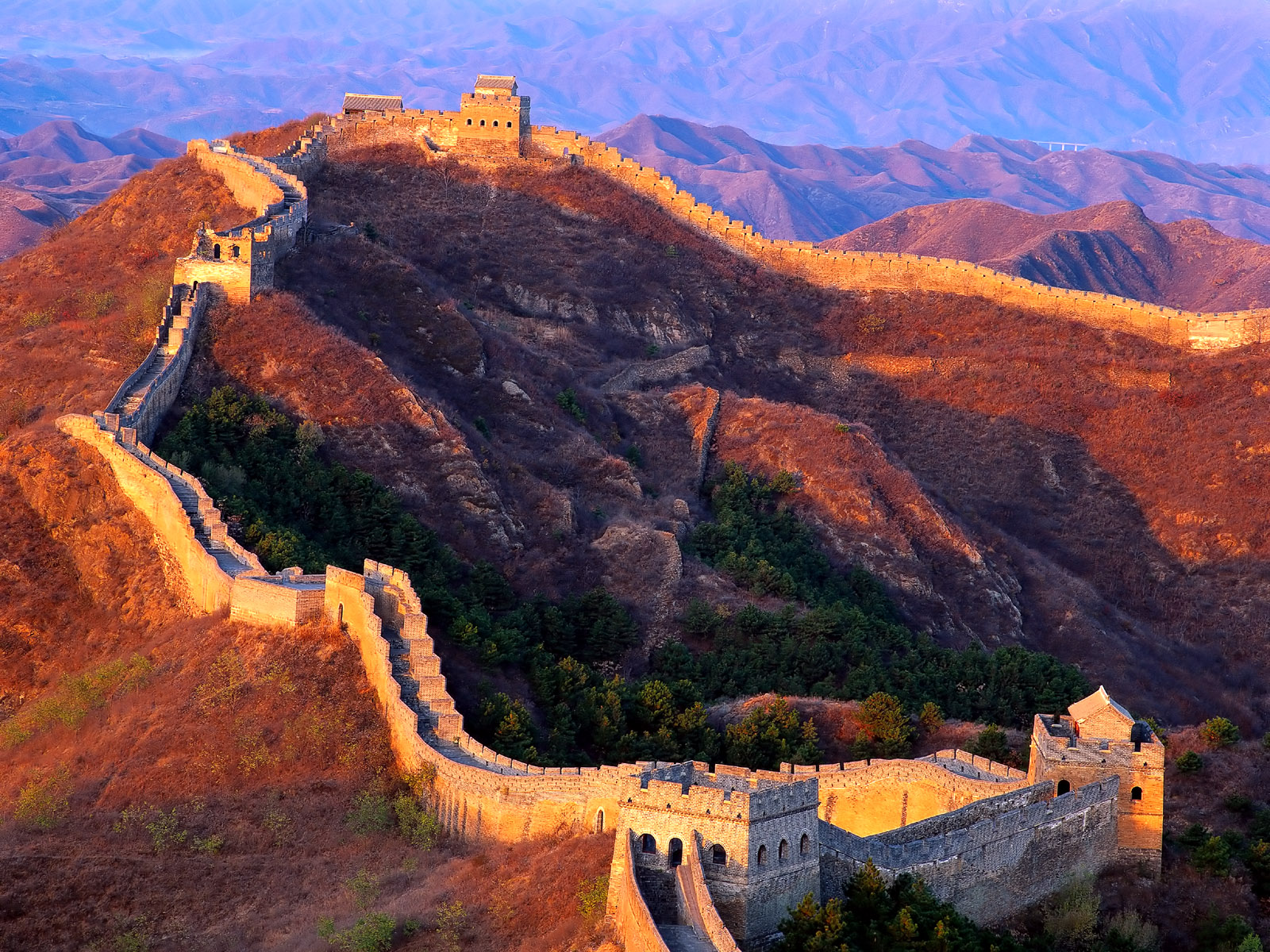 CoolPictureGallery: Great wall of china wallpaper.