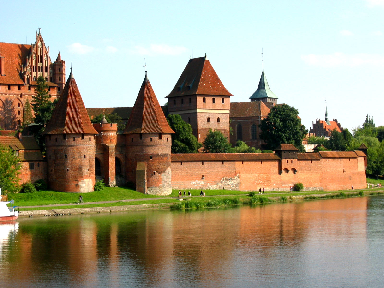 Malbork Castle of Teutonic Knights Pomerania 1