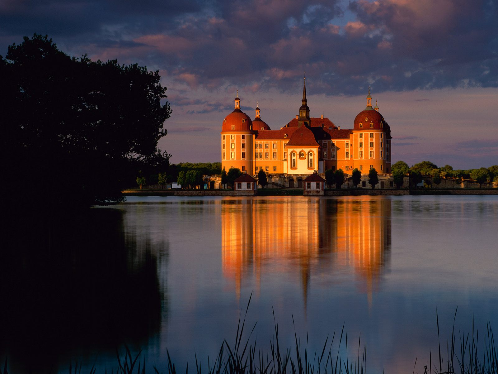 Moritzburg Castle near Dresden Saxony Germany 2