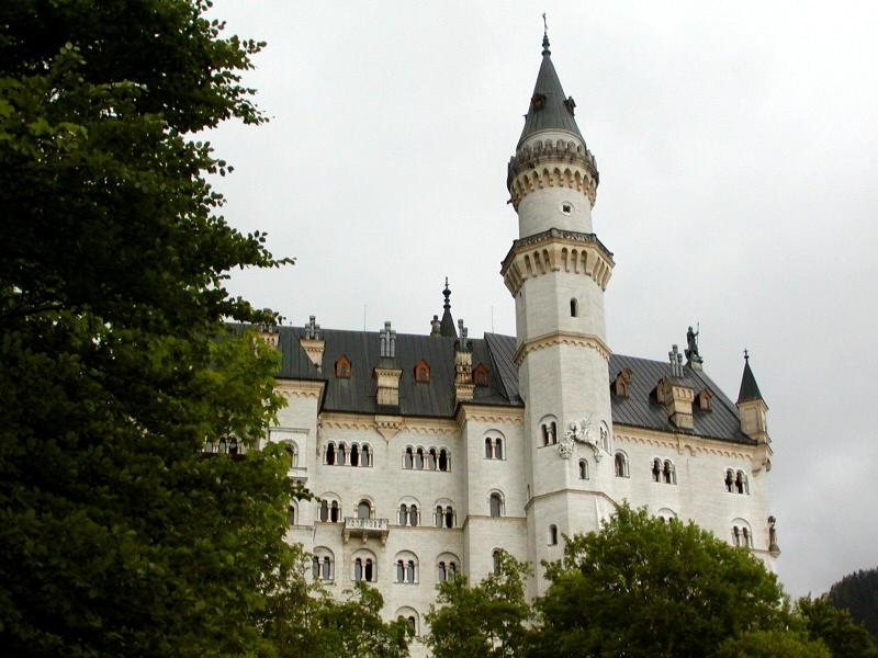 Neuschwanstein Castle Bavaria Germany - tower