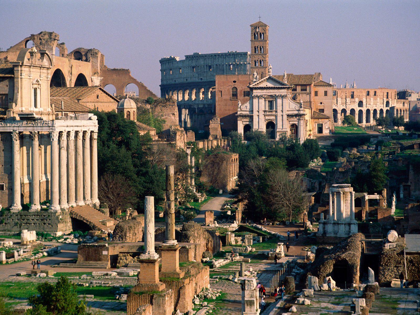 Roman Forum Rome Italy Picture Roman Forum Rome Italy