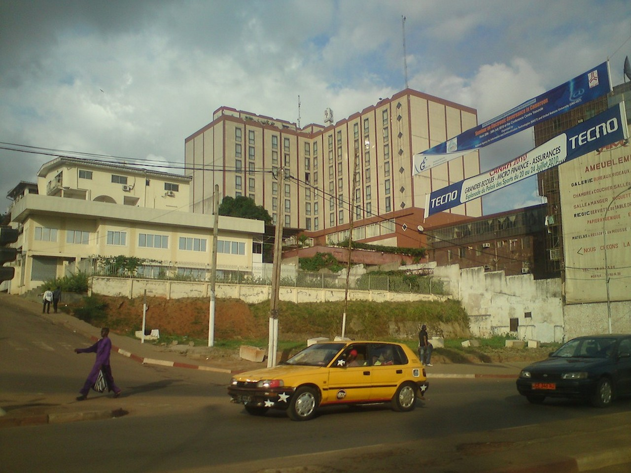 Cameroon city center