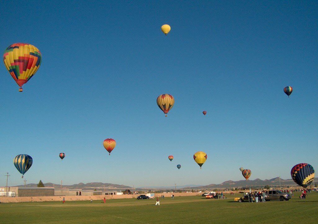 SkyFest Hot Air Ballon Festival in Cedar City Utah