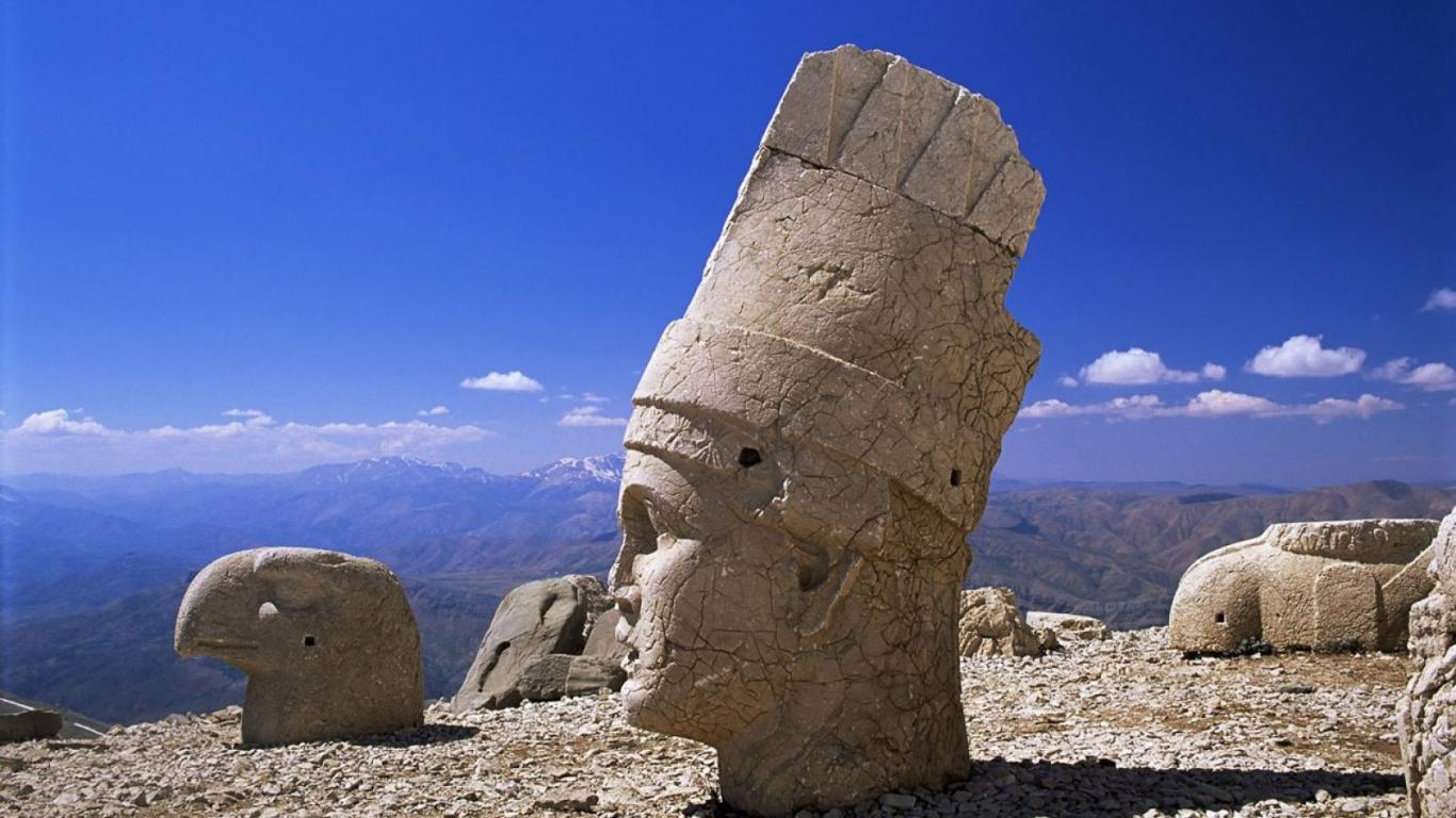 nemrut mountain 1366 x 768