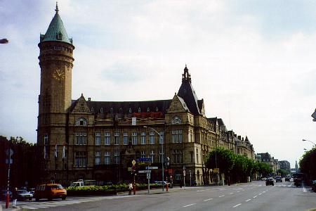Luxembourg-city-center
