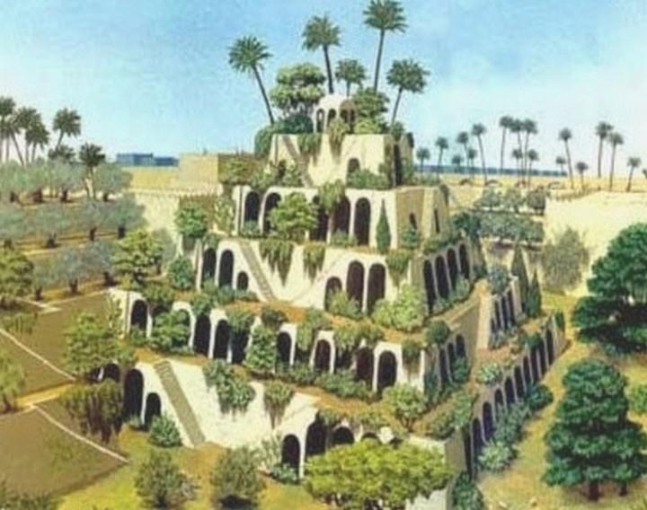 hanging gardens of babylon 720 x 568 picture, hanging gardens of ... Ziggurat Mesopotamia Model