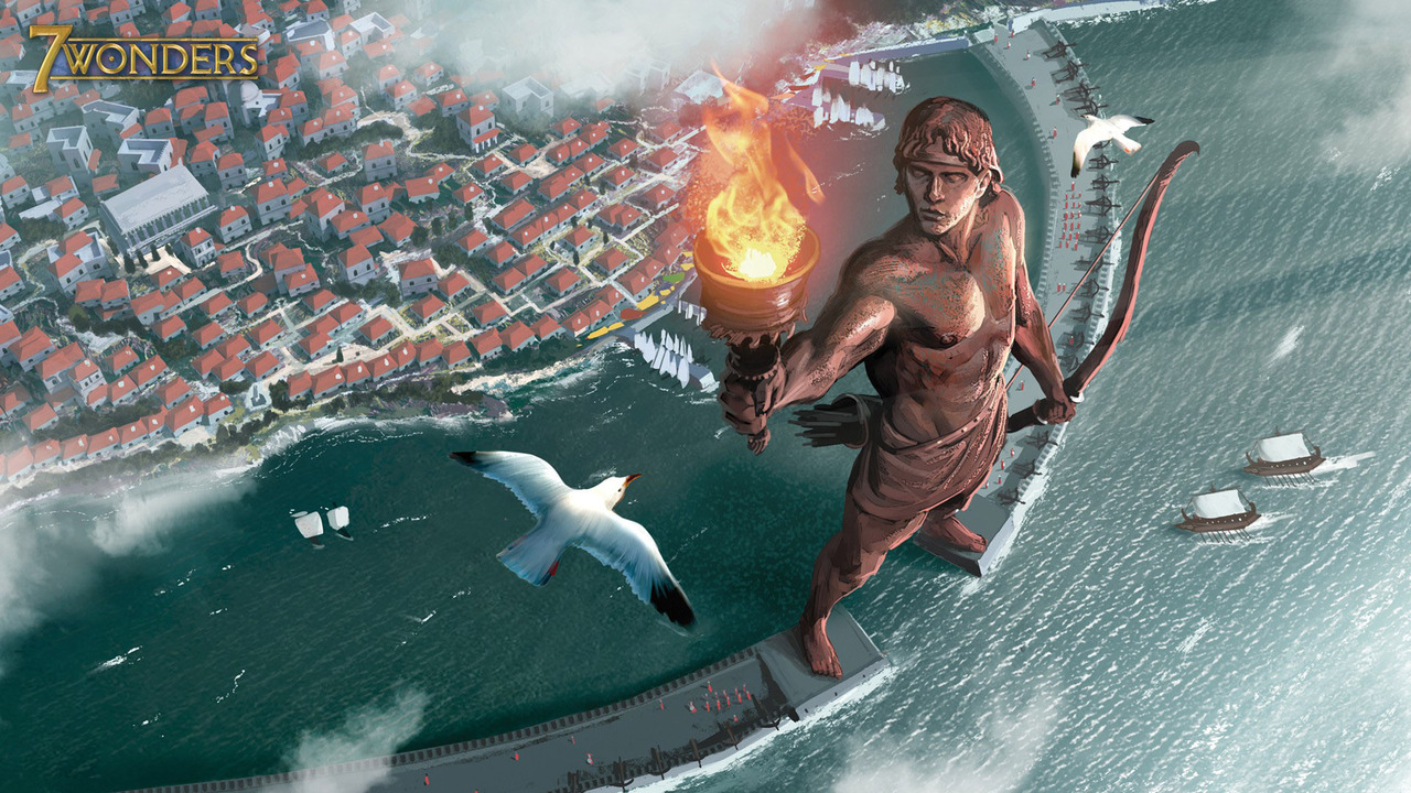 Colossus of Rhodes 1280 x 720