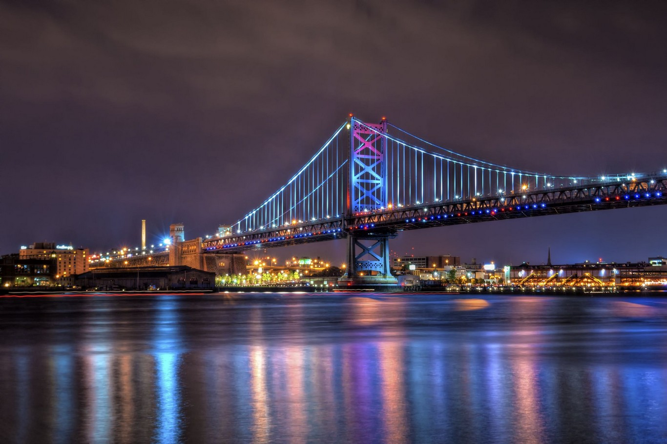 Benjamin Franklin Bridge Philadelphia