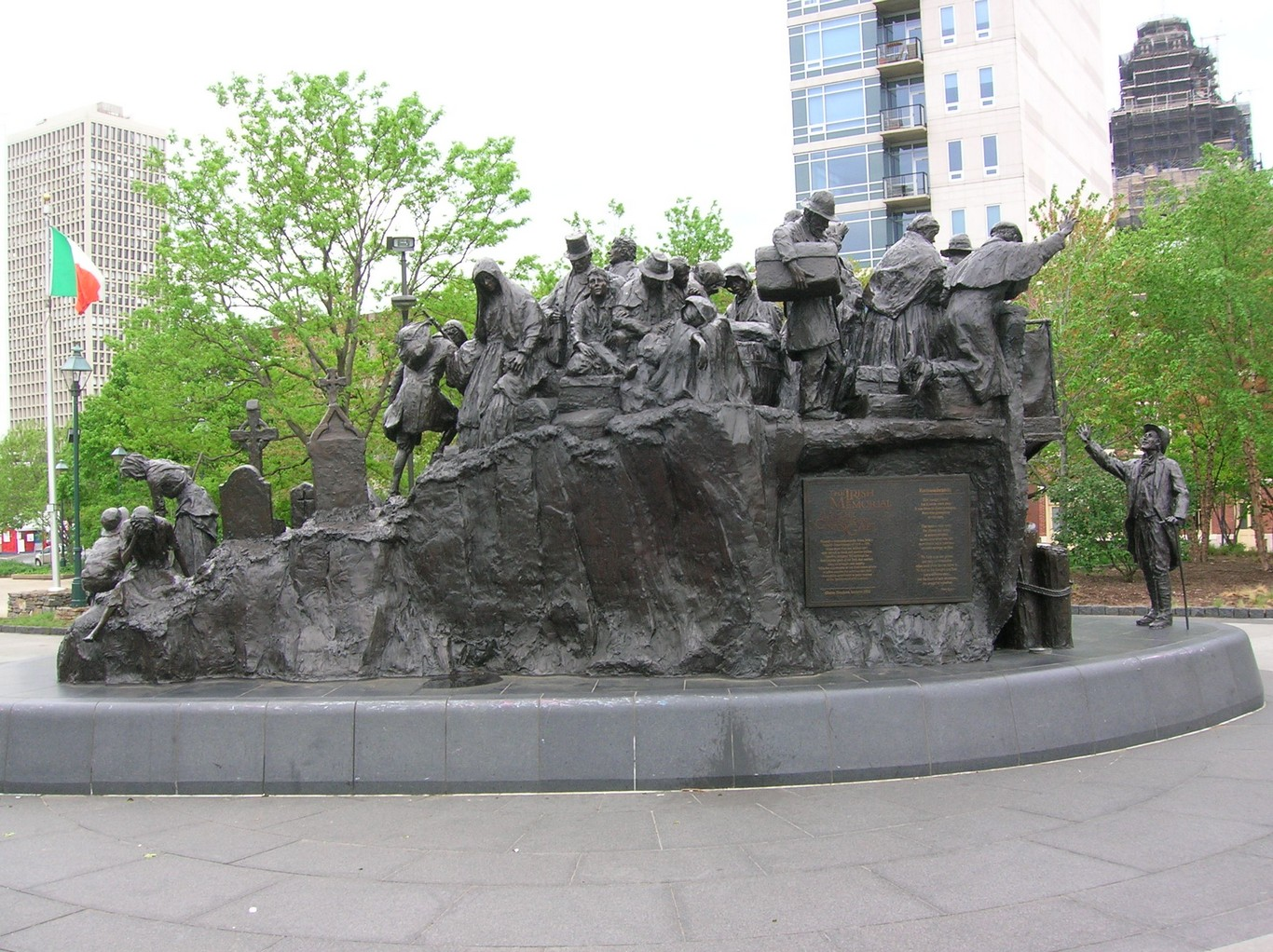 Irish famine memorial philadelphia