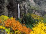 Bridalveil Fall Telluride Colorado