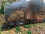 Cumbres and Toltec Steam Train Colorado