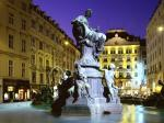 Donnerbrunnen Fountain Vienna Austria