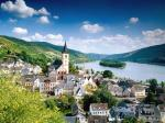 Lorch Village Hesse Rhine River Germany