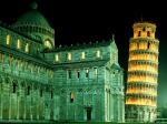 Duomo and Leaning Tower Pisa Italy