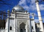 mosque in berlin - this is in fact the oldest mosque of germany