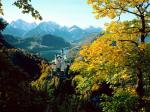 Neuschwanstein Castle Bavaria Germany - autumn