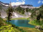 Alpine Jewel Bagley Lake Mount Baker Wilderness Washington